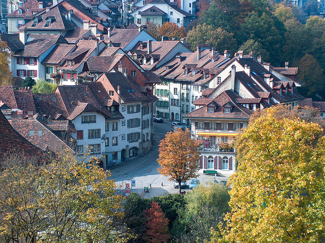 The Old City of Bern Switzerland