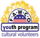FAWCO Youth Cultural Volunteers logo