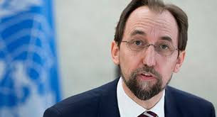 High Commissioner for Human Rights Zeid