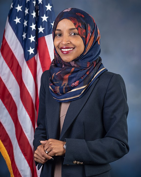 Ilhan Omar official portrait 116th Congress