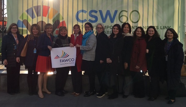 CSW60 Delegation Photo