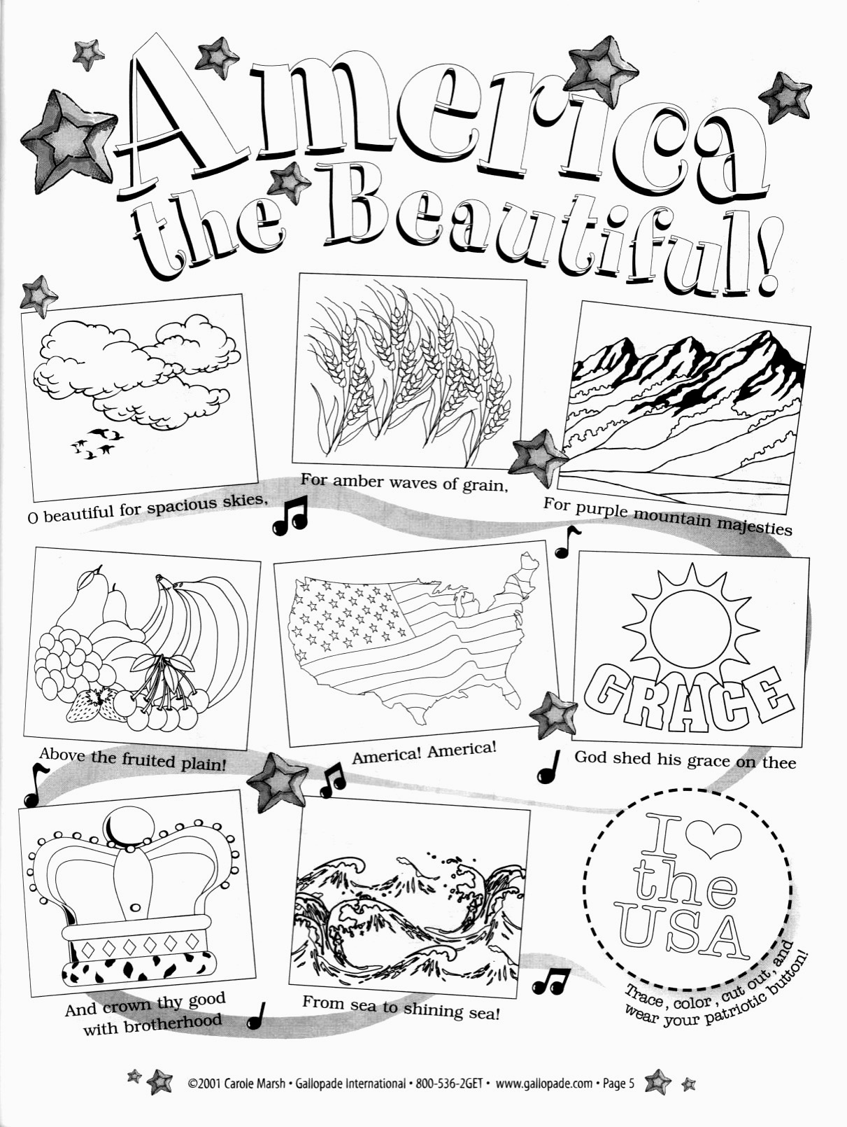 America_the_Beautiful_coloring_page_for_children
