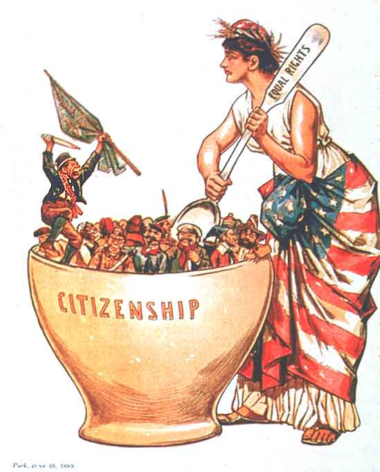 an analysis of the melting pot metaphor of united states Melting pots and salad bowls the early united states melting pot metaphor of cultural fusion and the derek woodrow's analysis of why english schools are.