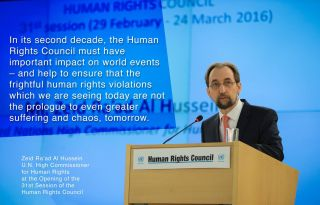 hrc31 hussein opening