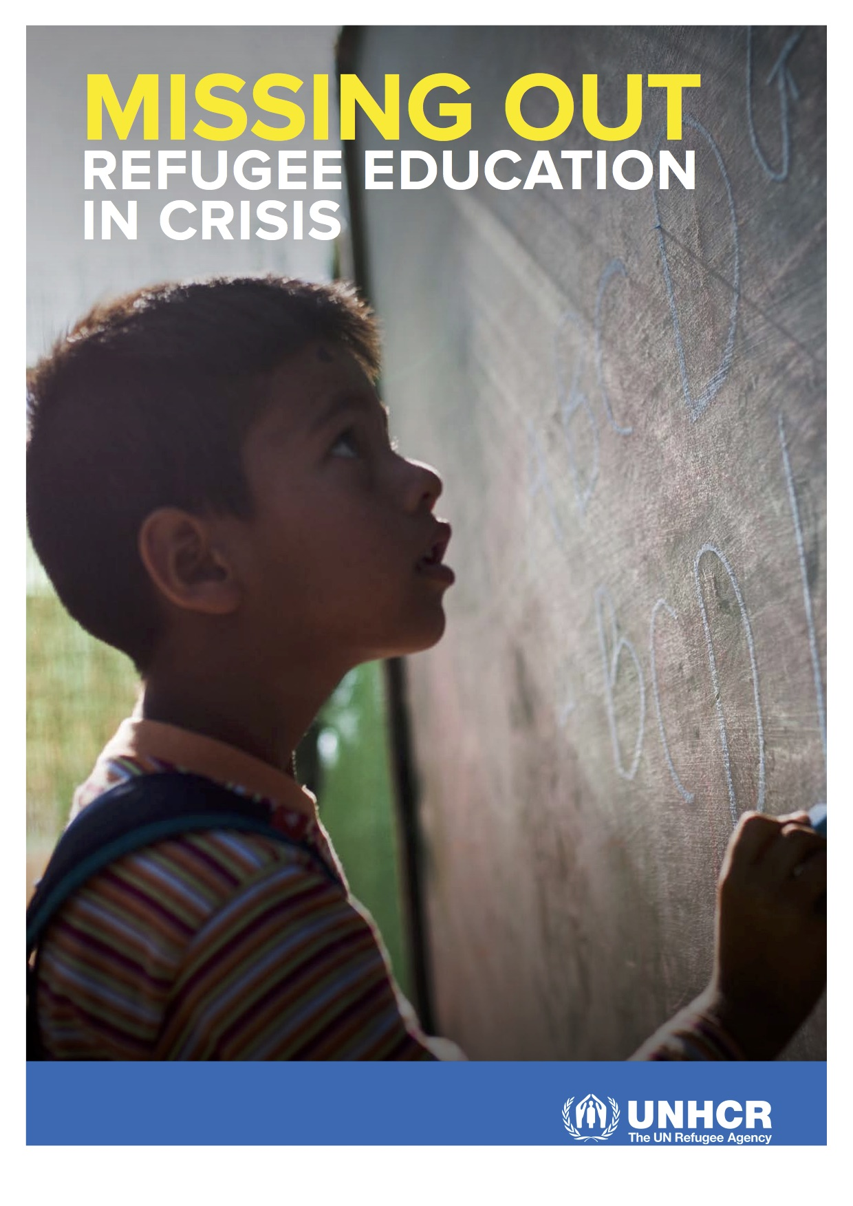 2016 UNHRC Missing Out Refugee Education in Crisis