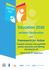 Incheon Declaration 2015 Education 2030 Framework for Action