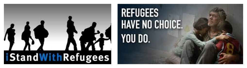 WRD I Stand with Refugees side